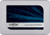 "Crucial MX500 250GB 2.5"" 7mm SATA III Internal SSD (with 7mm to 9.5mm spacer)"