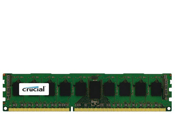 Crucial 8GB (1x 8GB) DDR3L-1600 PC3L-12800 1.35V / 1.5V DR x8 ECC Registered 240-pin RDIMM RAM Module