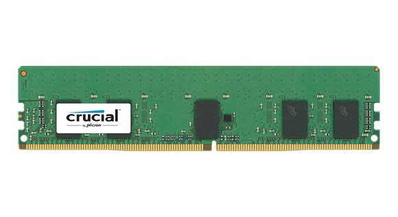 Crucial 8GB (1x 8GB) DDR4-2400 PC4-19200 1.2V DR x8 ECC Registered 288-pin RDIMM RAM Module