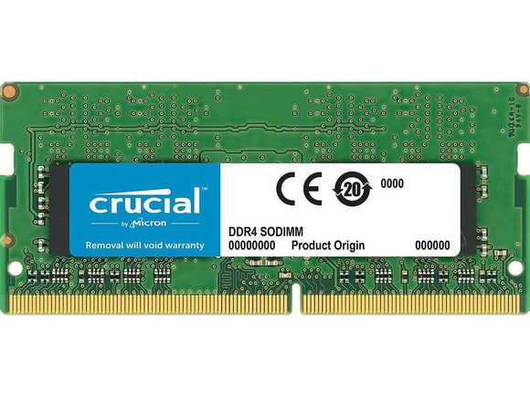 Crucial 8GB (1x 8GB) CL17 DDR4-2400 PC4-19200 1.2V SR x8 260-pin SODIMM RAM Module for Mac (or PC)
