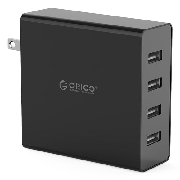 ORICO 4 Port USB Wall Charger (DCW-4U-US)
