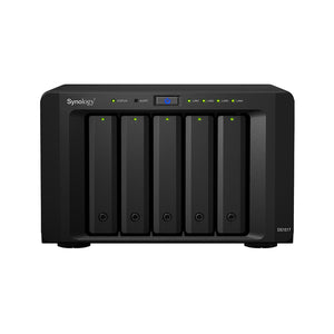 "Synology DiskStation DS1517+2GB 5-Bay 3.5"" Diskless 4xGbE NAS (Tower) Scalable, 3 Year Warranty"