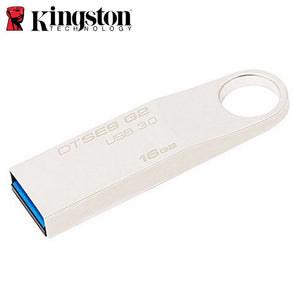 Kingston 16GB USB3.0 DataTraveler SE9 G2 Metal 100MB/s Read 15MB/s Write Flash Drive Memory Stick Thumb Key Lightweight Stylish Retail Pack 5yrs wty