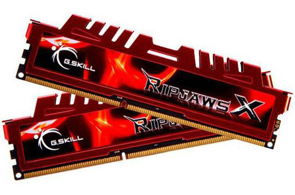 G.SKILL Ripjawsx 8GB (2x 4GB) CL9 DDR3-1600 PC3-12800 1.5V 240-pin UDIMM Gaming RAM Kit