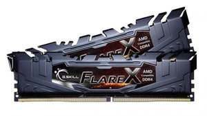 G.SKILL Flare X 32GB (2x 16GB) CL15 DDR4-2400 PC4-19200 1.2V 288-pin UDIMM Gaming RAM Kit - AMD Ryzen