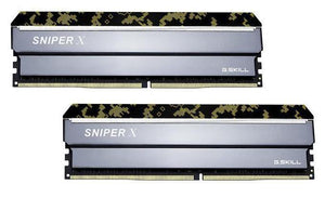 G.SKILL Sniper X 32GB (2x 16GB) CL16 DDR4-3000 PC4-24000 1.2V DR x8 288-pin UDIMM Gaming RAM Kit (with Black Header)