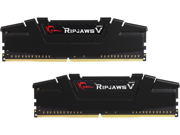 G.SKILL Ripjawsv 16GB (2x 8GB) CL16 DDR4-3200 PC4-25600 1.2V 288-pin UDIMM Gaming RAM Kit (Black)