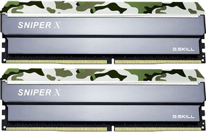 G.SKILL Sniper X 32GB (2x 16GB) CL16 DDR4-3200 PC4-25600 1.2V 288-pin UDIMM Gaming RAM Kit (with Forest Header)