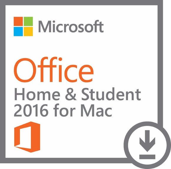 Microsoft Office 2016 Home & Student for Mac Digital Download