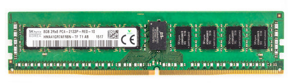 Hynix 8GB (1x 8GB) DDR4-2133 PC4-17000 1.2V DR x8 ECC Registered 288-pin RDIMM RAM Module
