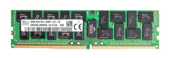 Hynix 64GB (1x 64GB) DDR4-2400 PC4-19200 1.2V QR x4 ECC Load Reduced 288-pin LRDIMM RAM Module