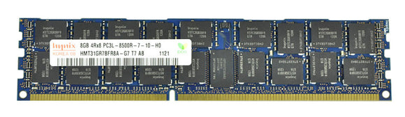 Hynix 8GB (1x 8GB) DDR3-1066 PC3-8500 1.5V QR x8 ECC Registered 240-pin RDIMM RAM Module