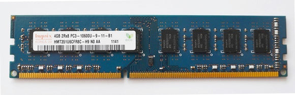 Hynix 4GB (1x 4GB) CL9 DDR3-1333 PC3-10600 1.5V 240-pin UDIMM RAM Module