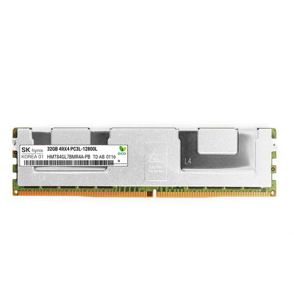 SK Hynix 1x 32GB DDR3-1600 LRDIMM PC3L-12800L Quad Rank x4 Module
