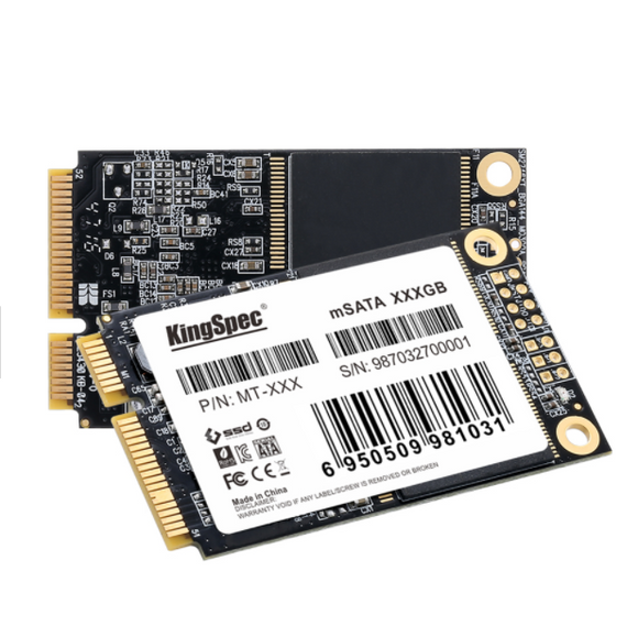Kingspec 512GB 50mm mSATA Internal SSD