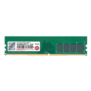 TRANSCEND 8GB (1x 8GB) CL17 DDR4-2400 PC4-19200 1.2V 288-pin UDIMM RAM Module