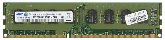 Samsung 4GB (1x 4GB) CL9 DDR3-1333 PC3-10600 1.5V 240-pin UDIMM RAM Module