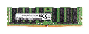 Samsung 64GB (1x 64GB) DDR4-2933 PC4-23400 1.2V QR x4 ECC Load Reduced 288-pin LRDIMM RAM Module