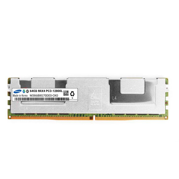 Samsung 1x 64GB DDR3-1600 LRDIMM PC3-12800L Octa Rank x4 Module