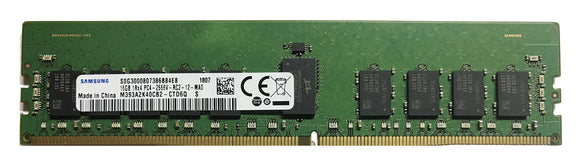 Samsung 16GB (1x 16GB) DDR4-2666 PC4-21300 1.2V SR x4 ECC Registered 288-pin RDIMM RAM Module