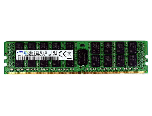 Samsung 32GB (1x 32GB) DDR4-2133 PC4-17000 1.2V DR x4 ECC Registered 288-pin RDIMM RAM Module