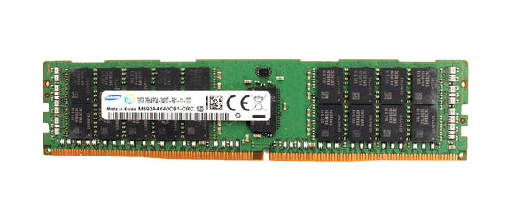 Samsung 32GB (1x 32GB) DDR4-2400 PC4-19200 1.2V DR x4 ECC Registered 288-pin RDIMM RAM Module