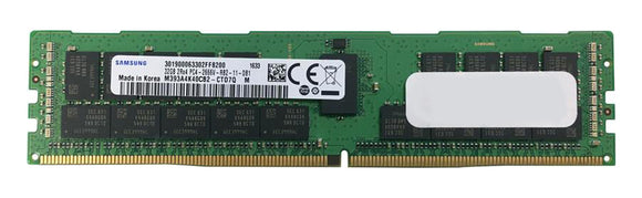 Samsung 32GB (1x 32GB) DDR4-2666 PC4-21300 1.2V DR x4 ECC Registered 288-pin RDIMM RAM Module