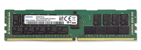Samsung 32GB (1x 32GB) DDR4-2933 PC4-23400 1.2V DR x4 ECC Registered 288-pin RDIMM RAM Module