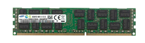 Samsung 8GB (1x 8GB) DDR3-1866 PC3-14900 1.5V DR x8 ECC Registered 240-pin RDIMM RAM Module
