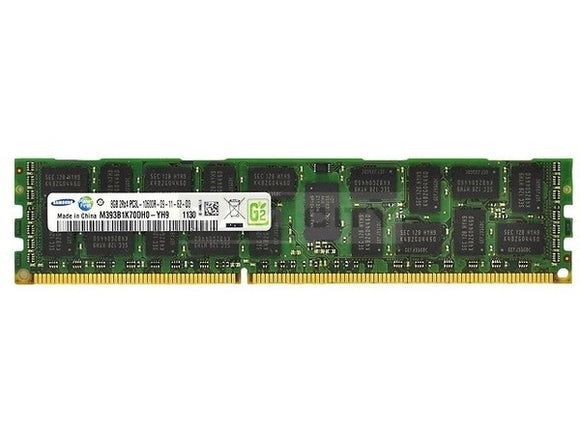 Samsung 8GB (1x 8GB) DDR3L-1333 PC3L-10600 1.35V / 1.5V DR x4 ECC Registered 240-pin RDIMM RAM Module