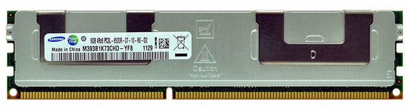 Samsung 8GB (1x 8GB) DDR3-1066 PC3-8500 1.5V QR x8 ECC Registered 240-pin RDIMM RAM Module