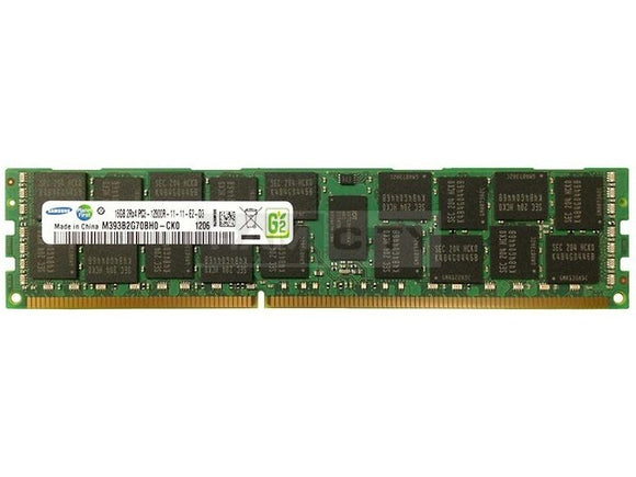 Samsung 16GB (1x 16GB) DDR3-1600 PC3-12800 1.5V DR x4 ECC Registered 240-pin RDIMM RAM Module