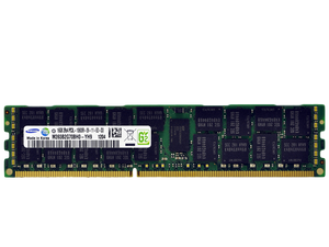 Samsung 16GB (1x 16GB) DDR3L-1333 PC3L-10600 1.35V / 1.5V DR x4 ECC Registered 240-pin RDIMM RAM Module