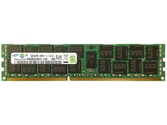 Samsung 16GB (1x 16GB) DDR3L-1600 PC3L-12800 1.35V / 1.5V DR x4 ECC Registered 240-pin RDIMM RAM Module