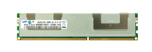 Samsung 4GB (1x 4GB) DDR3-1333 PC3-10600 1.5V DR x4 ECC Registered 240-pin RDIMM RAM Module