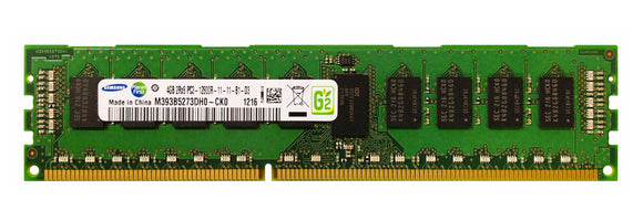 Samsung 4GB (1x 4GB) DDR3-1600 PC3-12800 1.5V DR x8 ECC Registered 240-pin RDIMM RAM Module
