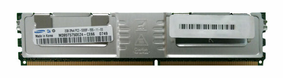 Samsung 2GB (1x 2GB) DDR2-667 PC2-5300 1.8V DR x4 ECC Fully Buffered 240-pin FB-DIMM RAM Module