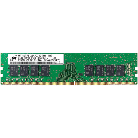 Micron 4GB (1x 4GB) CL9 DDR3-1333 PC3-10600 1.5V 240-pin UDIMM RAM Module