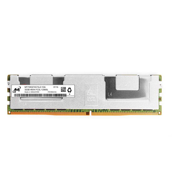 Micron 1x 32GB DDR3-1600 LRDIMM PC3L-12800L Quad Rank x4 Module