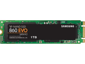 Samsung 860 Evo 1TB M.2 80mm (2280) SATA III Internal SSD