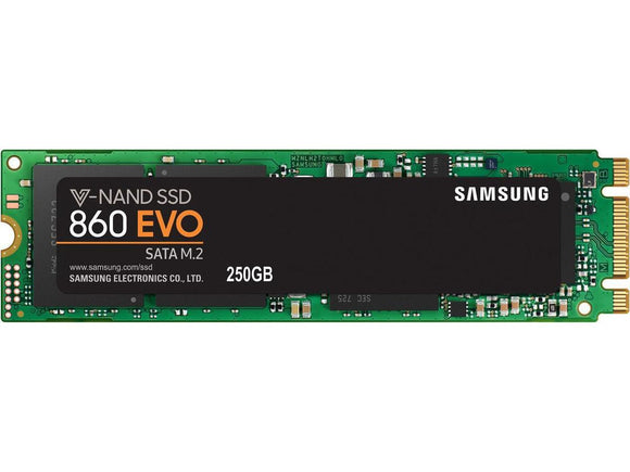 Samsung 860 Evo 250GB M.2 80mm (2280) SATA III Internal SSD