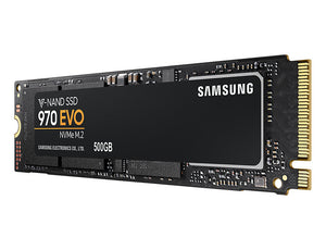 Samsung 970 Evo 500GB NVMe M.2 PCIe 3.0 x4 80mm (2280) Internal SSD