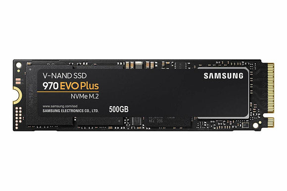 Samsung 970 Evo Plus 500GB NVMe M.2 PCIe 3.0 x4 80mm (2280) Internal SSD
