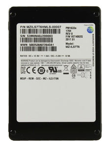 "Samsung PM1633a 7.68TB 2.5"" SAS 3.0 12Gb/s 15mm Internal SSD"