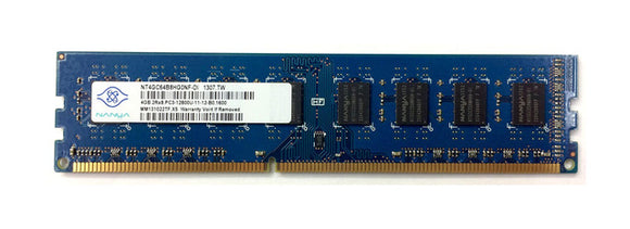 Nanya 4GB (1x 4GB) CL11 DDR3-1600 PC3-12800 1.5V 240-pin UDIMM RAM Module