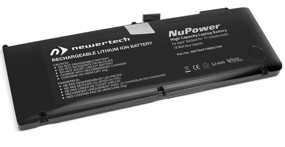Newertech 78Wh Replacement Battery for MacBookPro 15
