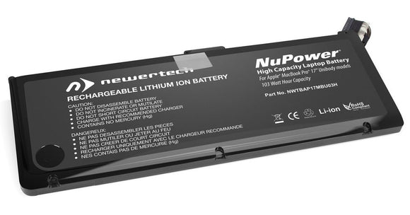 NewerTech 103Wh Replacement Battery for MacBook Pro 17