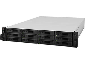 "Synology RackStation RS2416+ 12-Bay 3.5"" Diskless 4xGbE NAS (2U Rack) (SMB), Intel Atom 2.4GHz, 2GB ram, 2xUSB3, 2xUSB2, Scalable-Backed with SRS!"
