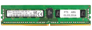 Fujitsu Original 8GB (1x 8GB) DDR4-2133 PC4-17000 1.2V SR x4 ECC Registered 288-pin RDIMM RAM Module