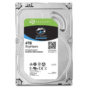 Seagate 4TB SkyHawk 64MB SATA3 Surveillance Optimized, NVR Ready, ImagePerfect e, RVS HDD (ST4000VX007)
